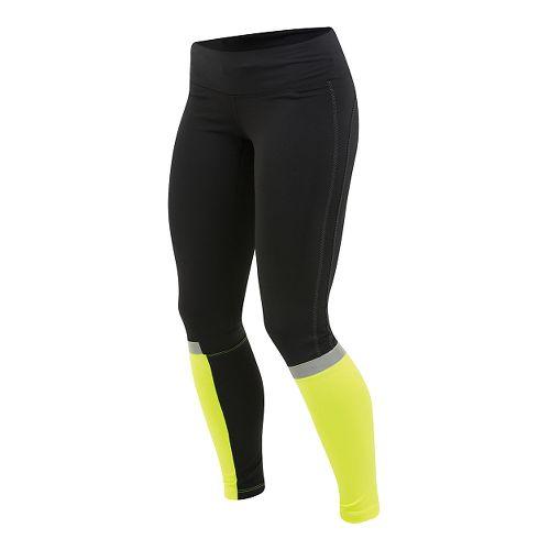 Womens Pearl Izumi Fly Tights - Black/Yellow XL
