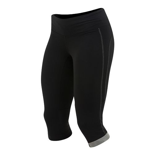 Womens Pearl Izumi Fly 3/4 Capri Tights - Black XL
