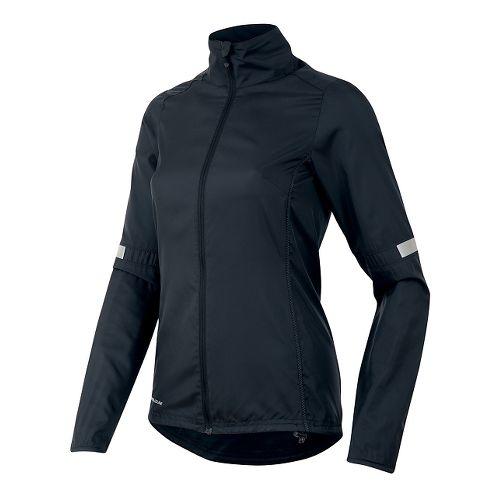 Womens Pearl Izumi Fly Running Jackets - Black S