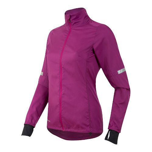 Womens Pearl Izumi Fly Running Jackets - Purple Wine M
