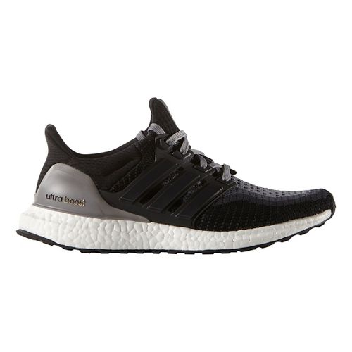 Womens adidas Ultra Boost Running Shoe - Black/Grey 11