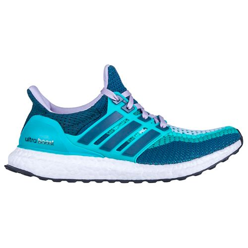 Womens adidas Ultra Boost Running Shoe - Clear Green/Mineral 7.5