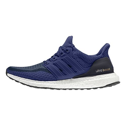 Womens adidas Ultra Boost Running Shoe - Navy 10