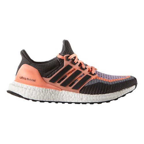 Womens adidas Ultra Boost Running Shoe - Sun Glow/Grey 10