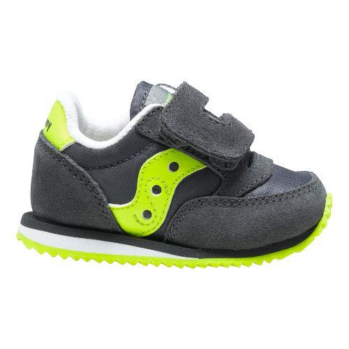 Baby Jazz Crib Casual Shoe - Grey/Citron 3C