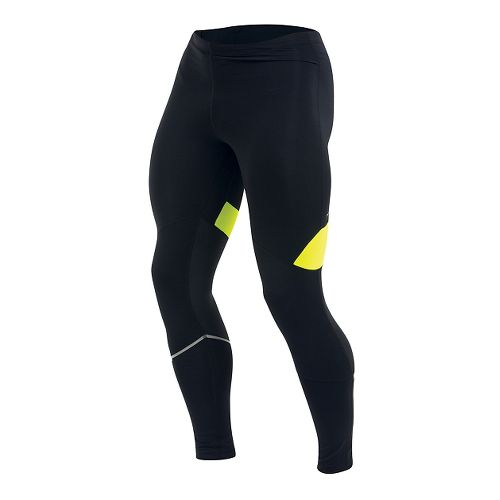 Mens Pearl Izumi Fly Full Length Tights - Black/Yellow M