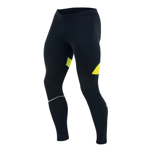 Mens Pearl Izumi Fly Thermal Full Length Tights - Black/Yellow L