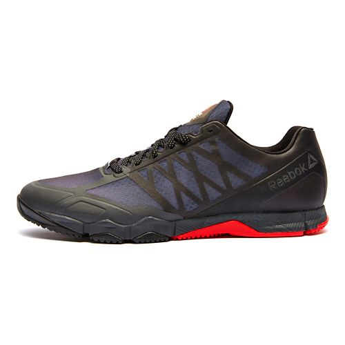 Mens Reebok CrossFit Speed TR Cross Training Shoe - Black/Red 10.5