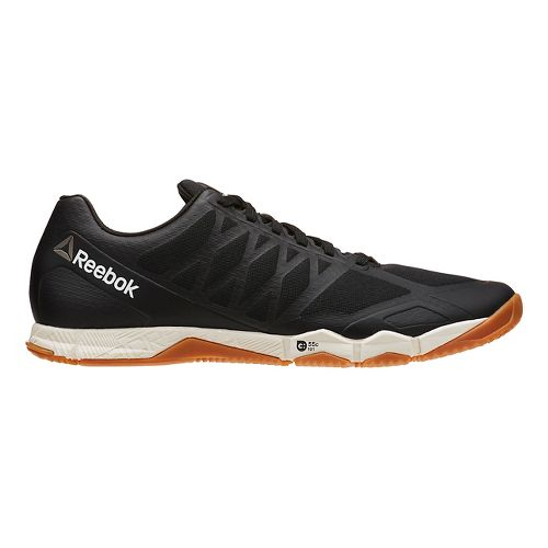 Mens Reebok CrossFit Speed TR Cross Training Shoe - White/Neon Pacific 14