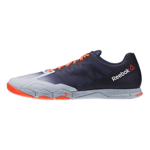 Mens Reebok CrossFit Speed TR Cross Training Shoe - Grey/Navy 10.5