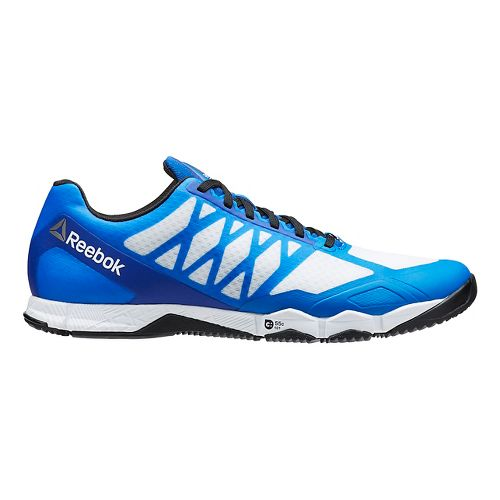 Mens Reebok CrossFit Speed TR Cross Training Shoe - Blue/White 9.5