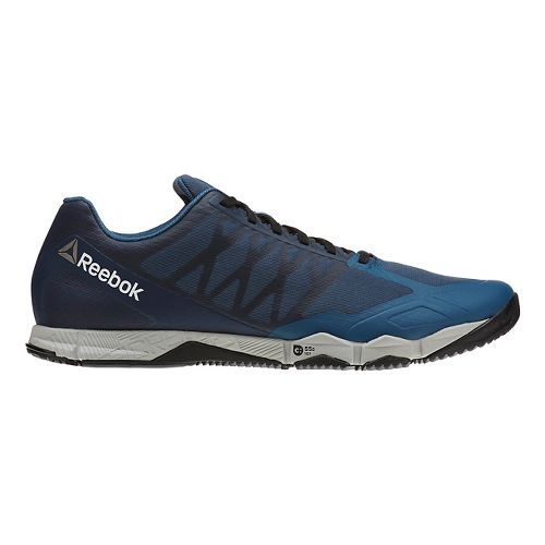 Mens Reebok CrossFit Speed TR Cross Training Shoe - Blue/Grey 9