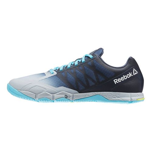 Womens Reebok CrossFit Speed TR Cross Training Shoe - Grey/Yellow 9