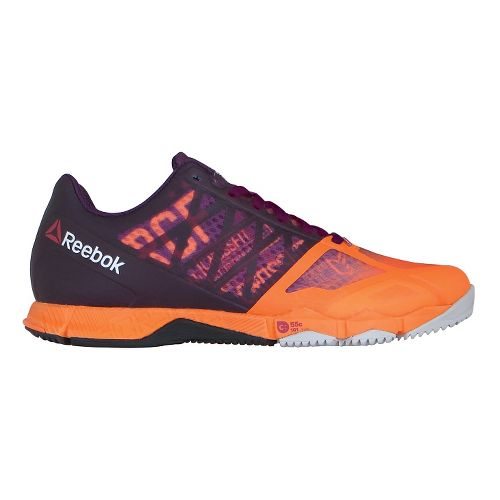 Womens Reebok CrossFit Speed TR Cross Training Shoe - Orange/Orchid 7