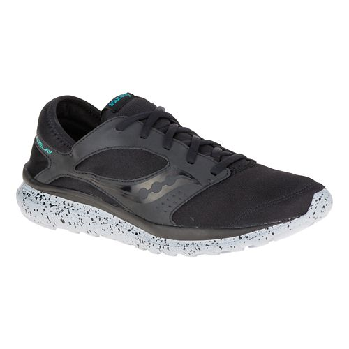 Mens Saucony Kineta Relay Casual Shoe - Royal/Black 9.5