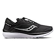 Mens Saucony Kineta Relay Casual Shoe - Black/White 10.5