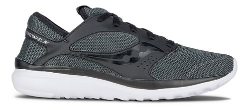 Mens Saucony Kineta Relay Casual Shoe - Black/Black 11.5