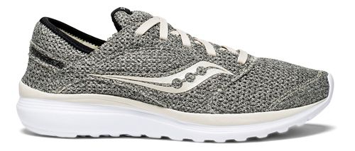 Mens Saucony Kineta Relay Casual Shoe - Grey/Beige 9