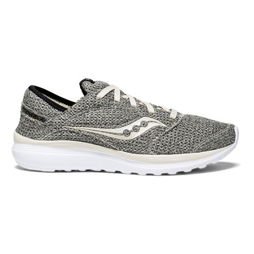 Mens Saucony Kineta Relay Casual Shoe - Grey/Beige 11.5