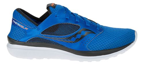 Mens Saucony Kineta Relay Casual Shoe - Marl/Black 7.5