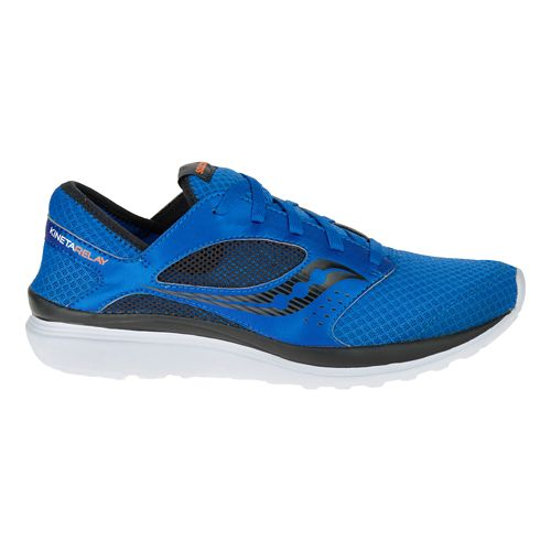 Mens Saucony Kineta Relay Casual Shoe - Royal/Black 9