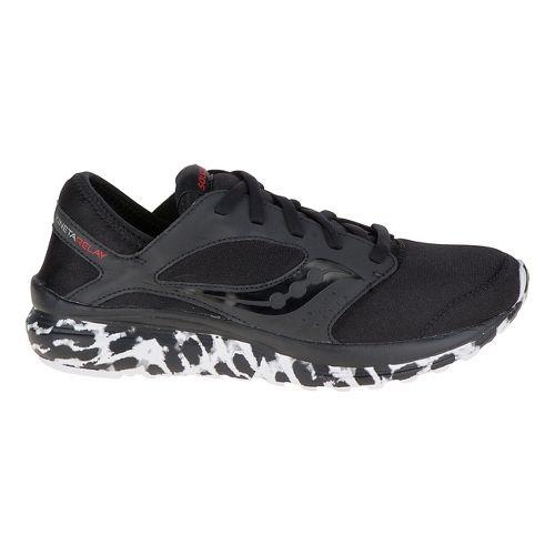 Womens Saucony Kineta Relay Casual Shoe - Black 6.5
