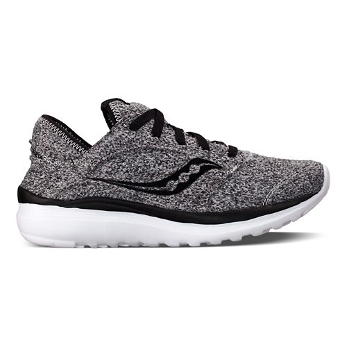 Womens Saucony Kineta Relay Casual Shoe - Marl/White 10