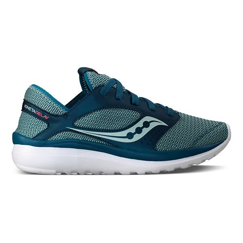 Womens Saucony Kineta Relay Casual Shoe - Teal/Mint 11