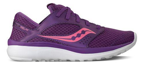 Womens Saucony Kineta Relay Casual Shoe - Purple/Pink 9