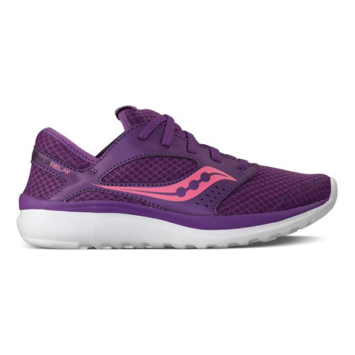 Womens Saucony Kineta Relay Casual Shoe - Purple/Pink 10