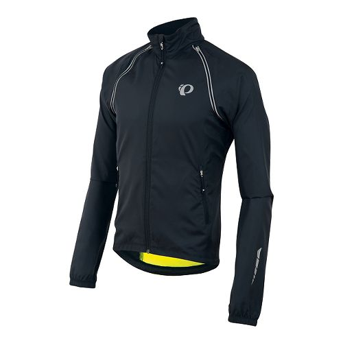 Mens Pearl Izumi Elite Barrier Convertible Running Jackets - Screaming Yellow L