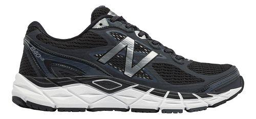 Mens New Balance 840v3 Running Shoe - Black/White 10.5