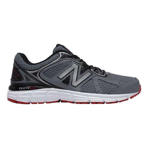 Mens New Balance 560v6 Running Shoe - Gray/Black/Red 8