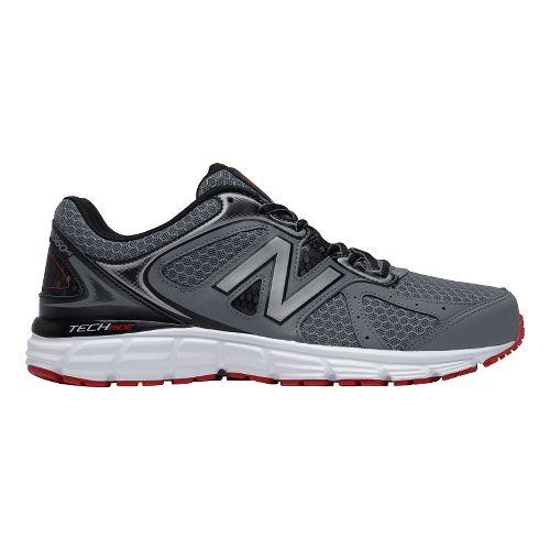 Mens New Balance 560v6 Running Shoe - Gray/Black/Red 8
