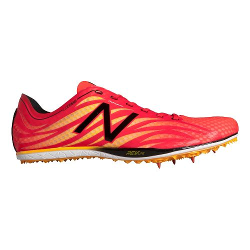 Mens New Balance LD5000v3 Track and Field Shoe - Flame/Black 10.5