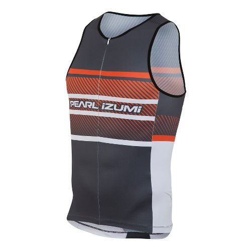 Mens Pearl Izumi ELITE In-R-Cool LTD Tri Singlet Sleeveless & Tank Technical Tops - Stripes ...
