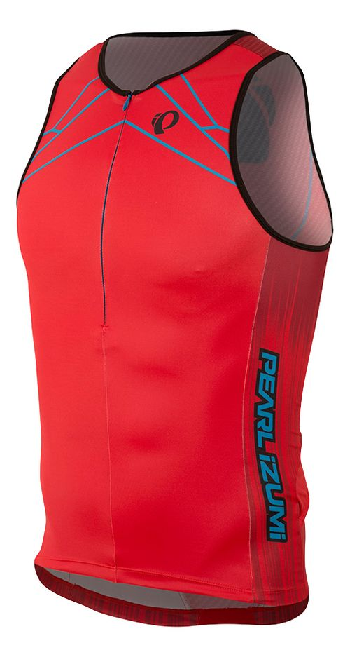 Mens Pearl Izumi ELITE In-R-Cool LTD Tri Singlet Sleeveless & Tank Tops Technical Tops - ...