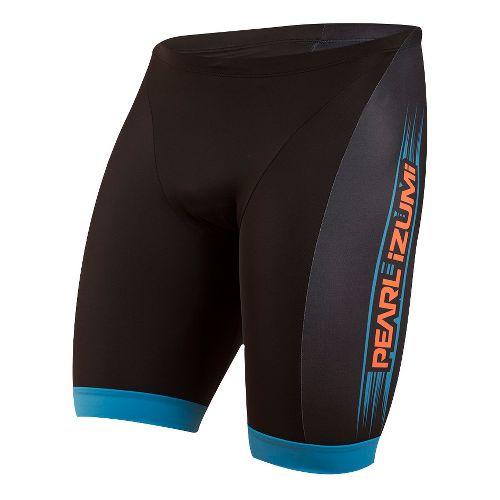 Mens Pearl Izumi ELITE In-R-Cool LTD Tri Unlined Shorts - Bel Air Blue Rush XL