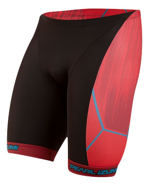 Mens Pearl Izumi ELITE In-R-Cool LTD Tri Unlined Shorts - Vaporize True Red S