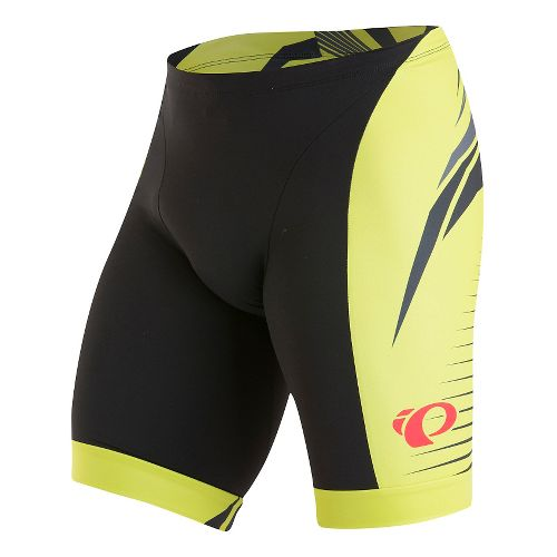 Mens Pearl Izumi ELITE In-R-Cool LTD Tri Unlined Shorts - Appose Lime Punch XL