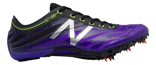 Womens New Balance SD400v3 Track and Field Shoe - Purple/Black 9