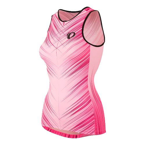Womens Pearl Izumi ELITE In-R-Cool LTD Tri Singlet Sleeveless & Tank Tops Technical Tops - ...