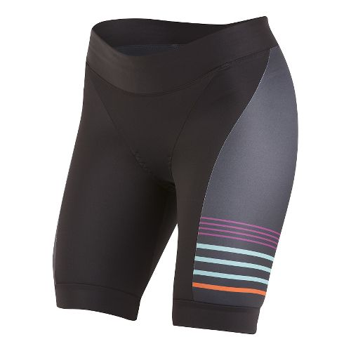 Womens Pearl Izumi ELITE In-R-Cool LTD Tri Unlined Shorts - Psych Black S