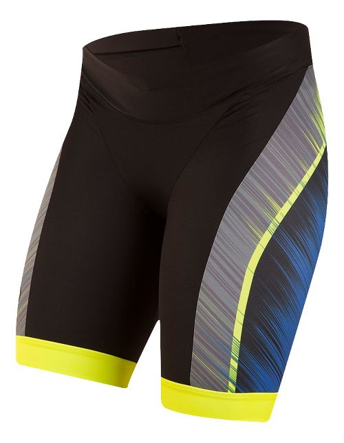 Womens Pearl Izumi ELITE In-R-Cool LTD Tri Unlined Shorts - Vaporize Blue M