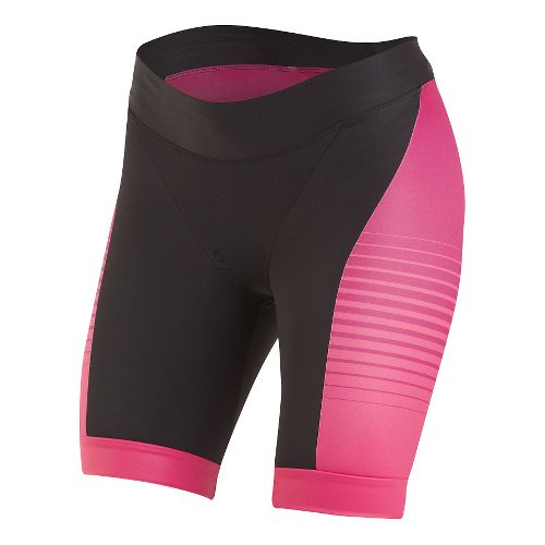 Womens Pearl Izumi ELITE In-R-Cool LTD Tri Unlined Shorts - Radiating Rouge Red S