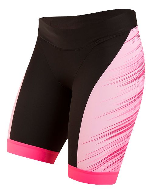 Womens Pearl Izumi ELITE In-R-Cool LTD Tri Unlined Shorts - Crystallize Pink XS