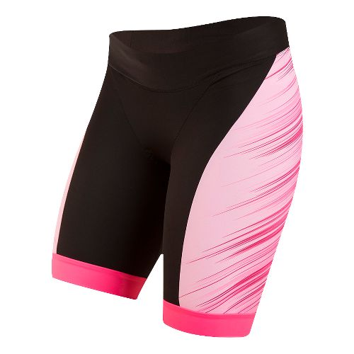 Womens Pearl Izumi ELITE In-R-Cool LTD Tri Unlined Shorts - Crystallize Pink S