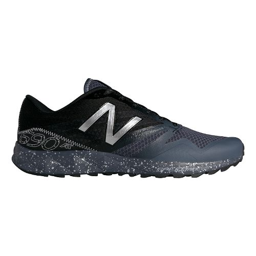 Mens New Balance T690v1 Trail Running Shoe - Grey/Black 13