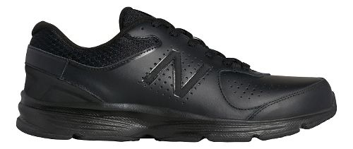 Mens New Balance 411v2 Walking Shoe - Black 10.5