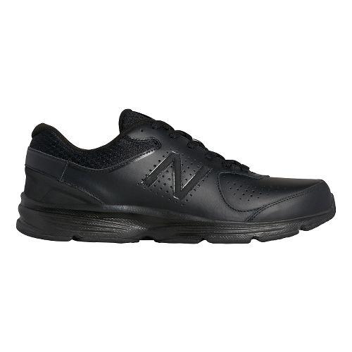 Mens New Balance 411v2 Walking Shoe - Black 11.5